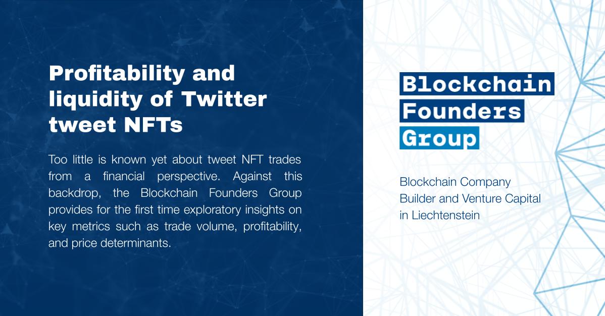 profitability and liquidity of twitter tweet NFTs